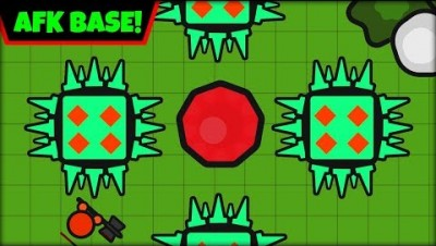 ZOMBS.IO BEST BASE EVER! | NEW AFK BASE | ZOMBS.IO AFK BASE (zombs.io update)