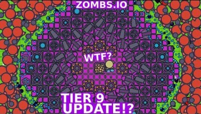 ZOMBS.IO NEW TIER 9 BASE UPDATE IDEA NEW UNBEATABLE CIRCLE BASE  in ZOMBS.IO LeeZY (CLICKBAITE)