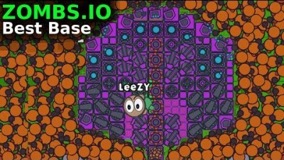 ZOMBS.IO UPDATE IDEA | IMPOSSIBLE BEST BASE ! WORLD RECORD ! | *NEW* 2 PLAYER AFK BASE  | LeeZY