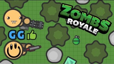 ZombsRoyale.io- Breaking the ENTIRE FOREST!!!