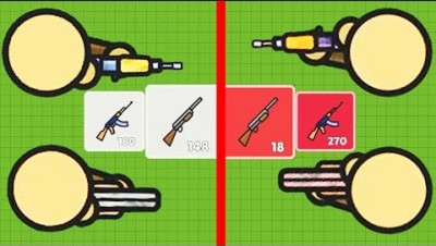 Zombsroyale.io - Common vs Mythic: Which is Better? - Common Weapons Challenge (10+ Kills)