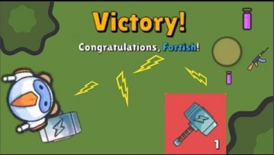 ZombsRoyale.io - VICTORY WITH THE THOR HAMMER //  Bests Moments and kills