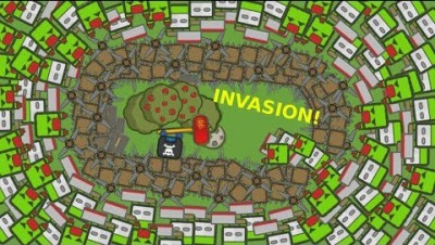 ZOMZOM.IO HUGE INVASION !!! BUILDING A CASTLE (MORE ZOMBIES  UPDATE) ZOMZOM.IO