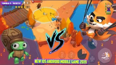 ZOOBA ZOO BATTLE ARENA [1 FOX VS 30 ALPHA ANIMALS] - ZOOBA.IO NEW IOS / ANDROID IO GAME