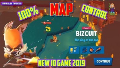 ZOOBA ZOO BATTLE ARENA [WORLD RECORD GAMEPLAY] 100% MAP CONTROL - ZOOBA.IO NEW IOS / ANDROID IO GAME